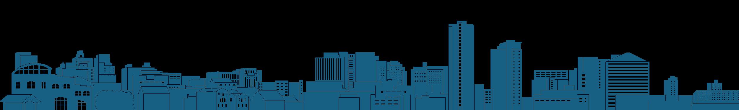 Image of the Wilmington, DE skyline